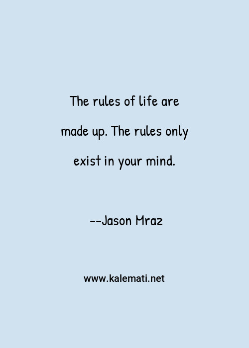 Quotes life rules of 20 Quotes