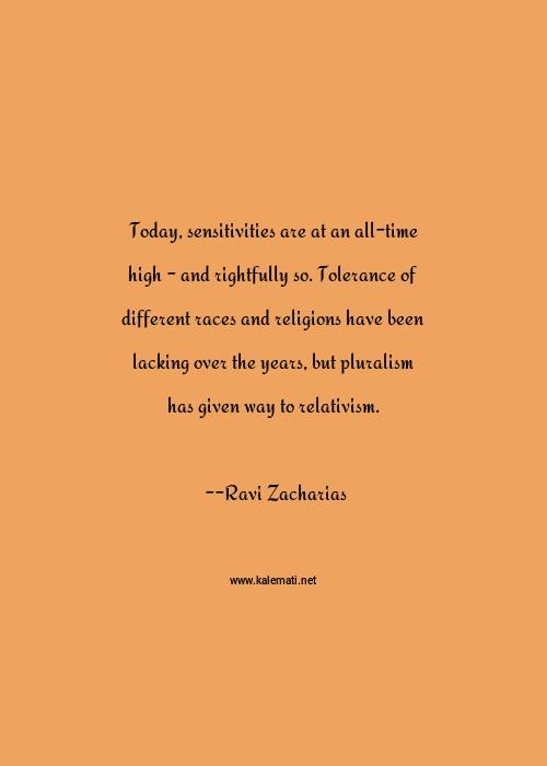 Zacharias quotes ravi Ravi Zacharias
