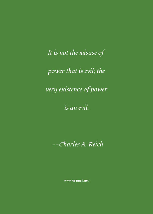 Misuse of power quotes